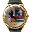 NEW Unisex Disney Mickey Mouse Mirror Image Watch HTF