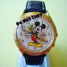 NEW Unisex Disney Lorus Mickey Mouse Alarm Melody Watch HTF