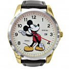 NEW Disney Men's Mickey Mouse Large Date Watch HTF