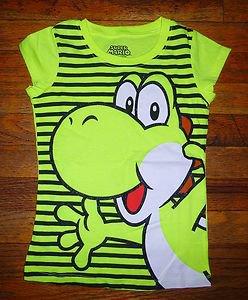 NEW Girls Yoshi Super Mario Nintendo T shirt