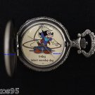 """NEW Disney Mickey Mouse Limited Edition 'Friday"""" Cowboy Talent Pocket Watch"""