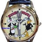 NEW Armitron Looney Tunes Sylvester Bugs Bunny & Daffy Duck Watch
