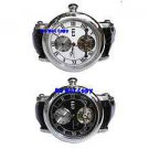 NEW Mens CTI 27Jewels Dual Time AUTOMATIC Tourbillon Watch