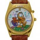 NEW Ladies Armitron Garfield Musical Melody Watch