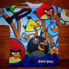 NEW Boys Angry Birds Colorful T Shirt