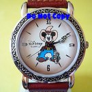 NEW Disney Mickey Mouse Rodeo Western Cowboy Guns Watch HTF