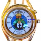 NEW Armitron Marvin The Martian Gold Bangle Lights-Up Watch