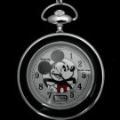 NEW Disney Fossil Mickey Mouse Limited Edition Pocket Watch HTF