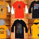 LOT of 6 Carter's, Place, Kid Connection Long Sleeve Boys Shirts Size 4T