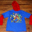 NWOT Boys Nintendo Super Mario Luigi Mario Yoshi Long Sleeve Shirt Size 8
