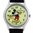 NEW Disney Lorus Mickey Mouse Glow In The Dark Watch HTF