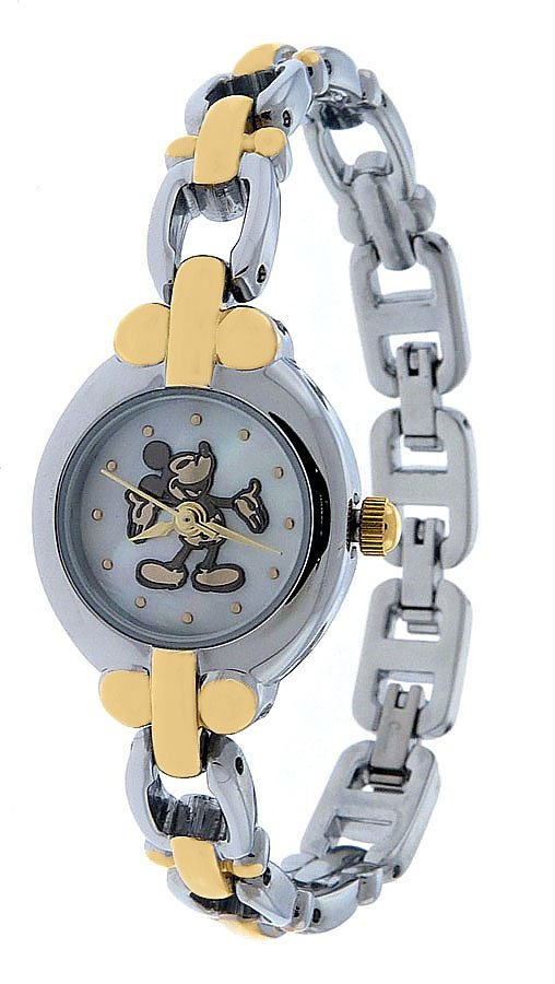 NEW Ladies Disney SII Mickey Mouse Icons Silhouette Watch HTF