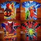 NEW Boys Marvel Hulk Captain American Thor Iron Man Spider Man Comics T Shirt