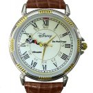 NEW Men's Disney Mickey Mouse Hanging on Second Hand Watch HTF