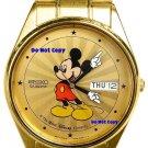 BRAND NEW Men's Disney Mickey Mouse SEIKO Starburst Date/Day Watch HTF # 15