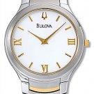 NEW Men's Bulova Two-tone Dress Watch