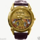NEW Disney Fossil Mary Poppins Gold Embossed Limited Edition Series Watch