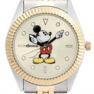 NEW DISNEY INGERSOLL MEN'S MICKEY MOUSE TWO-TONE WATCH