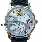 Brand New Armitron Peanuts Snoopy and Animated Woodstock Watch