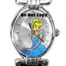 NEW Ladies Disney SII Cinderella Blue Dress Watch HTF