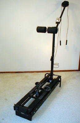 Nordic Track Challenger Ski Machine And Monitor And Manuals