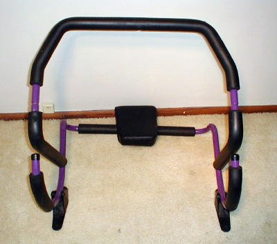AB ROLLER PLUS with STABILIZERS & MANUAL & DVD