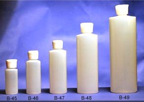 (36 ct) of 1 oz. Plastic Bottles w/ Spout Caps for Easy Pouring/Dispensing