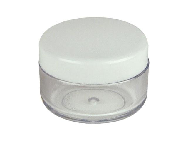 Wholesale Jars 72 Ct 1 3 Oz 10 Ml Clear Pet Plastic