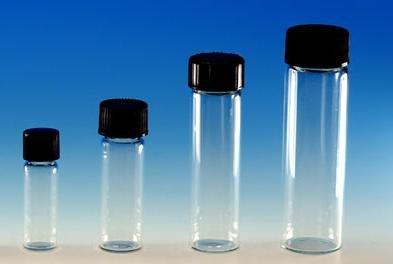 144 Ct 4 Dram Size 1 2 Oz 15 Ml Clear Glass Vials W
