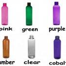 Wholesale Spray Bottles (36 ct) 2 oz. Multi Color Plastic Bottles with Black Sprayers