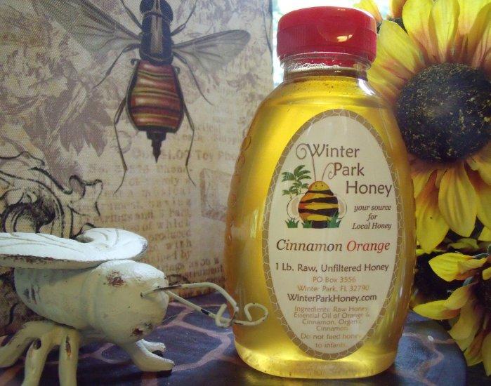 Cinnamon Orange 16oz  - Raw, Pure, Natural