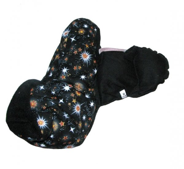 Aromatherapy SLIPPERS - BLACK color size M