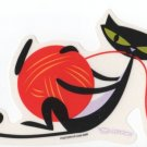 Playful Kitty Sticker (S-96)