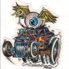 Small Eye Gone Wild Sticker (S-417)