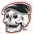 Rodder Skull Sticker (S-37)