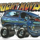 Night Moves Sticker (S-138)