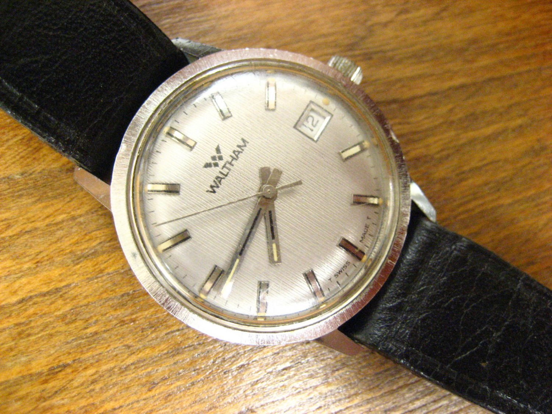Waltham clock dating