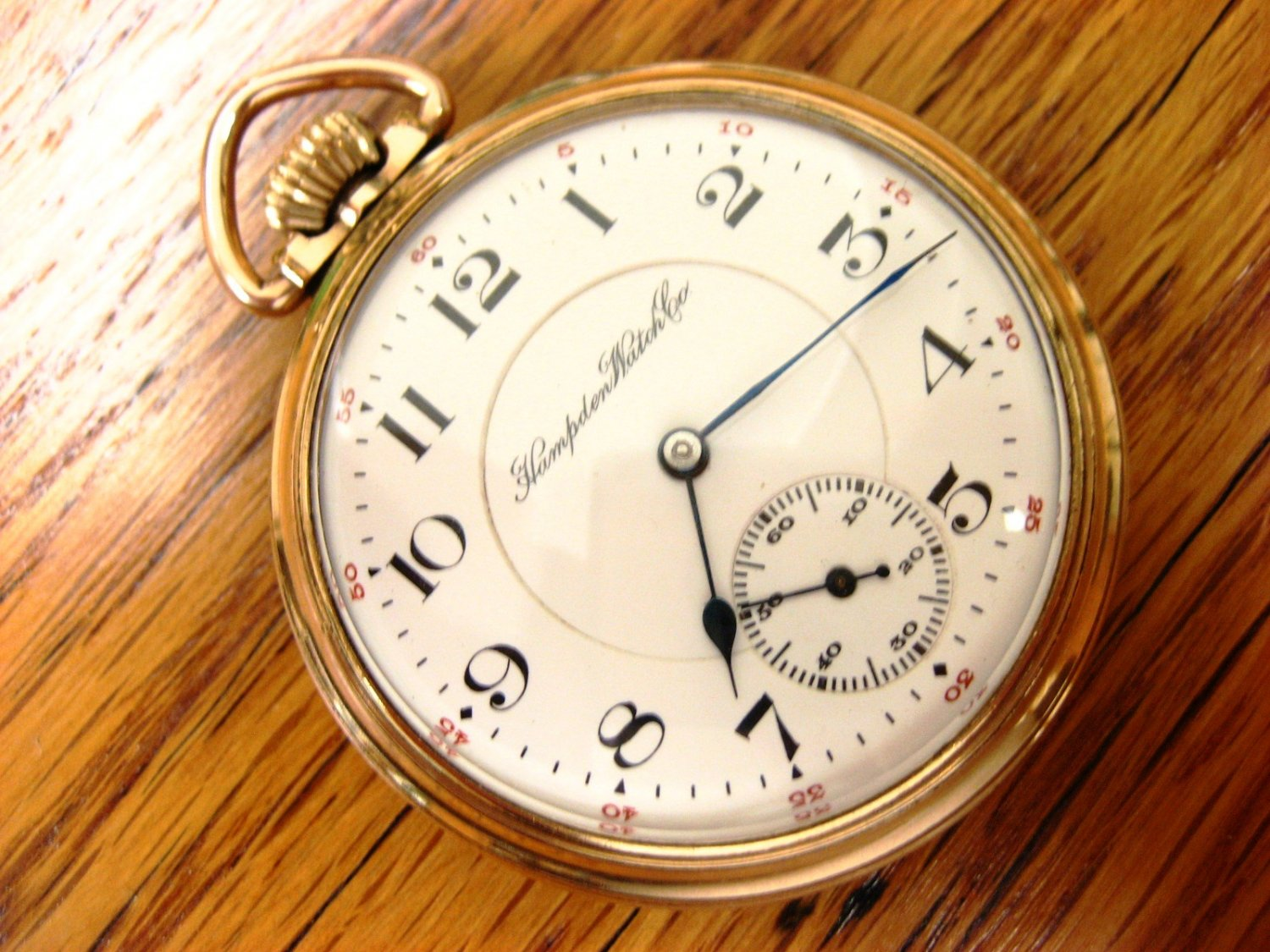 Dating a hampden pocket watch
