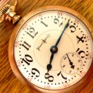 Illinois Bunn Special 24 Jewels Pocket Watch – Ornate Case (Pocket Watches)