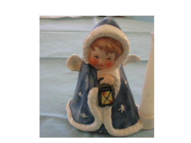 Goebel Angel with Lantern Candleholder