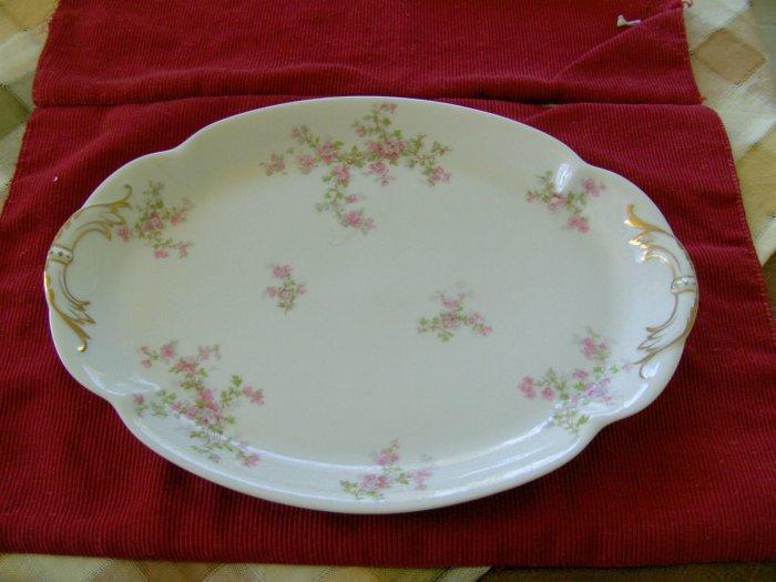 Haviland Platter with Gold Gilt Limoges France