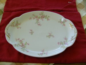 Haviland Platter with Gold Gilt Limoges France