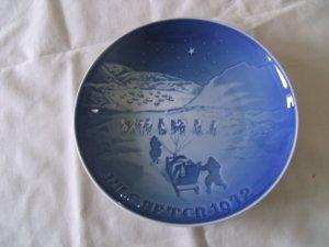 Bing and Grondahl Christmas Plate   1972