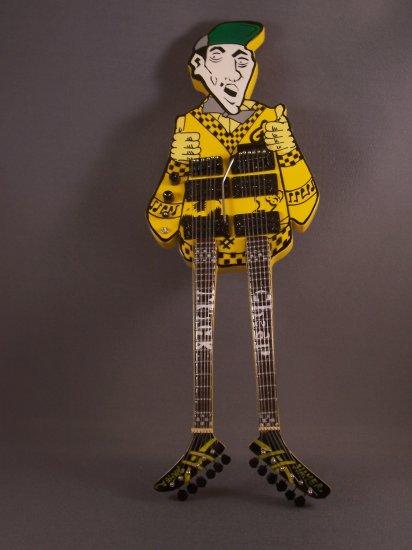 CHEAP TRICK  Mini Guitar UNCLE DICK Memorabilia Collectible Gift