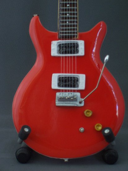 CARLOS SANTANA Mini Guitar RED  Collectible Gift