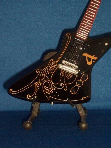 AMON AMARTH OLAVI MIKKONEN Miniature Guitar MINI BLACK DRAGON Collectible Gift
