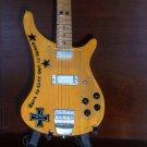 MOTORHEAD LEMMY KILMISTER Mini Bass Guitar Memorabilia Collectible Gift