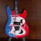 Collectible MOTLEY CRUE MICK MARS Memorabilia Mini Guitar THEATER OF PAIN  Gift