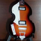 BEATLES PAUL MCCARTNEY Mini Famous Sunburst Bass Memorabilia Collectible Gift