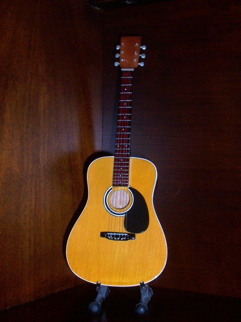 DAVE MATTHEWS BAND Mini Guitar Acoustic Collectible Gift